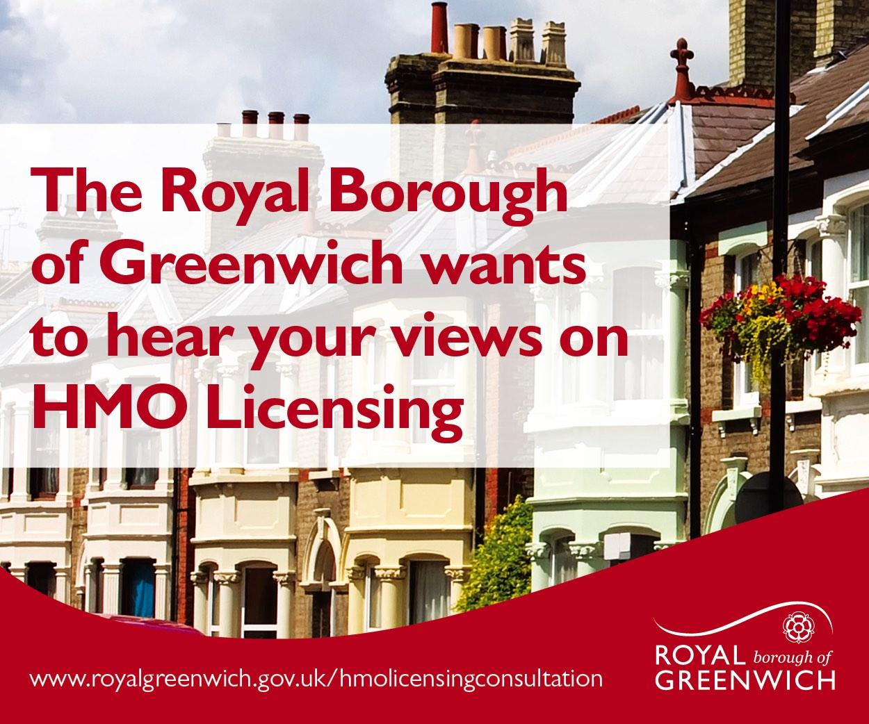 Greenwich HMO Licensing consultation