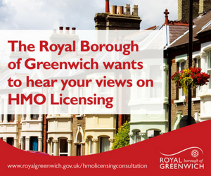 Greenwich Council HMO licensing consultation