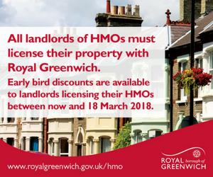 Greenwich HMO Licensing Scheme