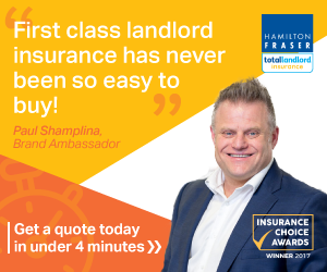 Total Landlord Insurance Advert
