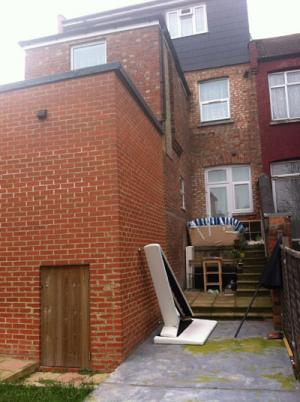 Prosecution after illegal extension built in Brent