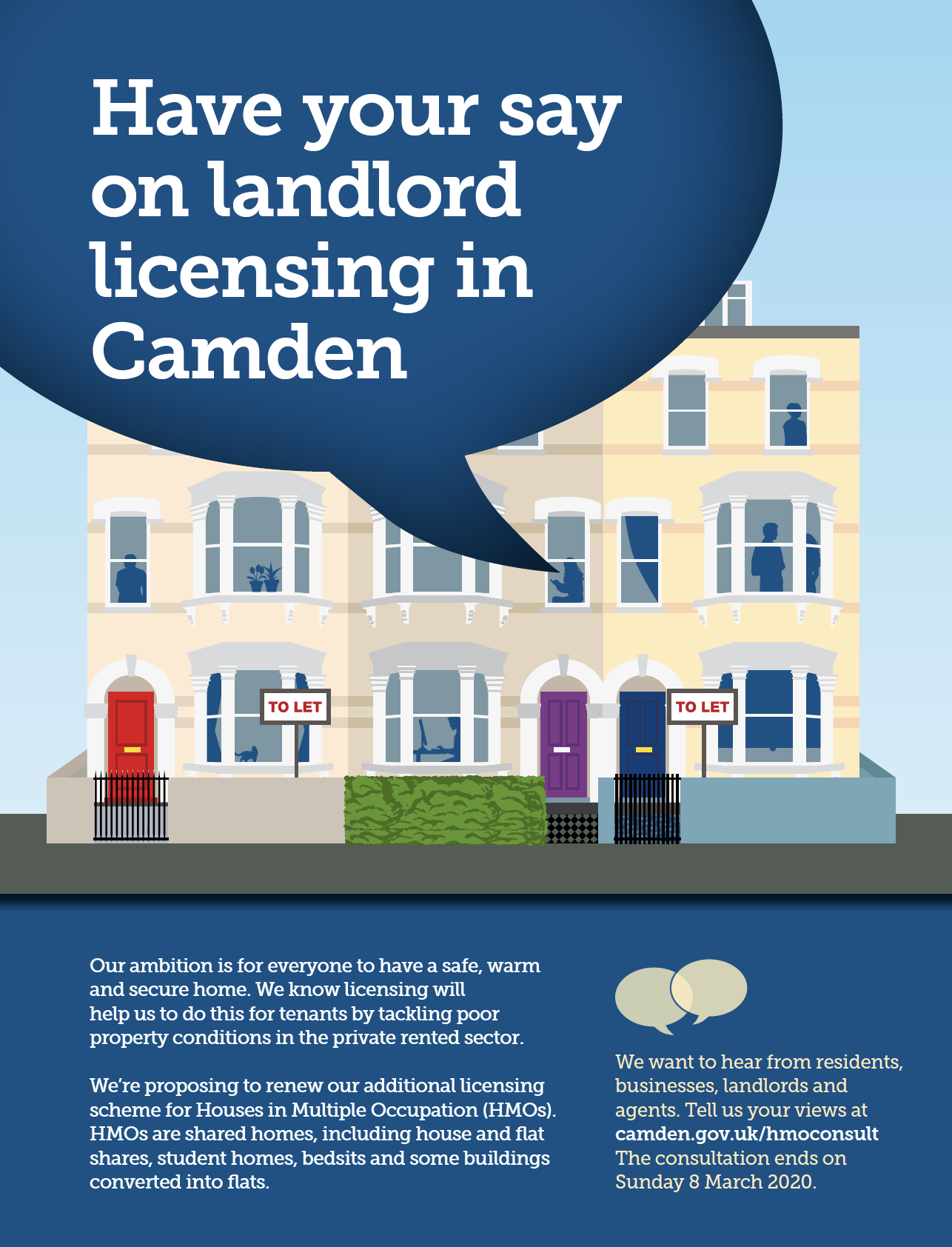 Camden Council property licensing consultation 2020
