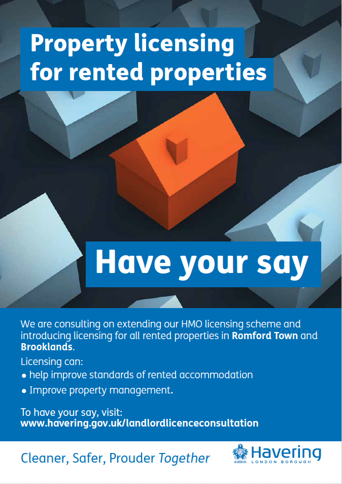 Havering landlord licensing consultation 2019