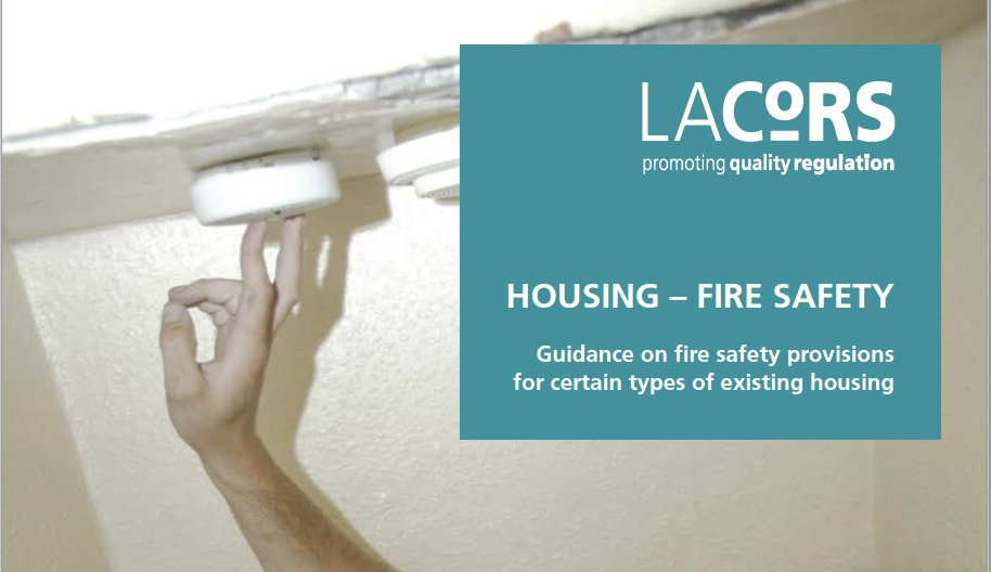 LACORS fire safety guidance 2008