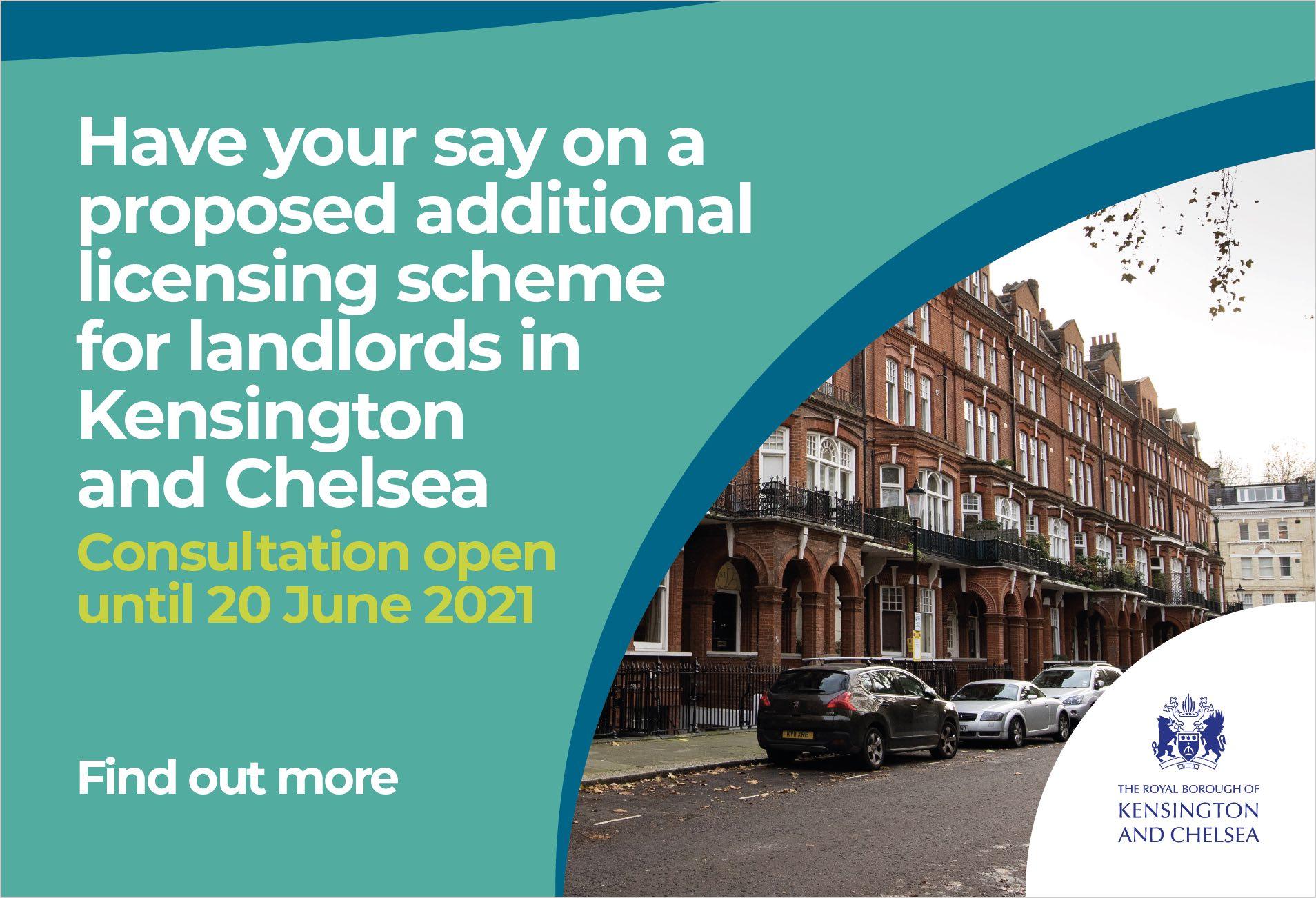 Kensington & Chelsea additional licensing consultation 2021