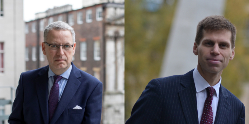 Richard Atkins QC and Ben Close, St Philips Barristers