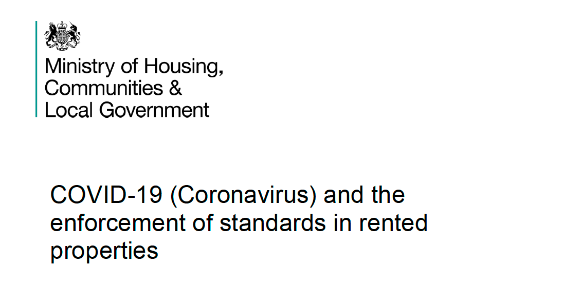 MHCLG COVID19 guidance for local housing authorities 2020