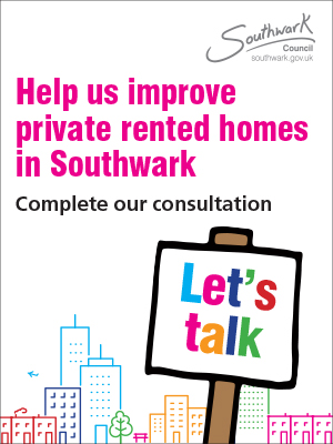 Southwark property licensing consultation 2021