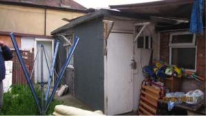 Hounslow outbuilding