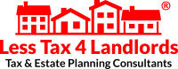 Less Tax for Landlords logo